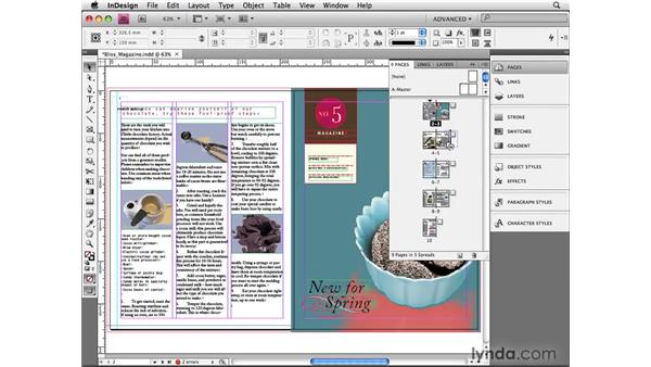 Shuffling pages (or not) : InDesign CS4 Beyond the Basics