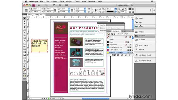 Setting non-printing objects: InDesign CS4 Beyond the Basics