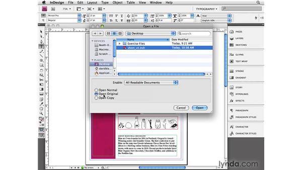 Creating templates: InDesign CS4 Beyond the Basics