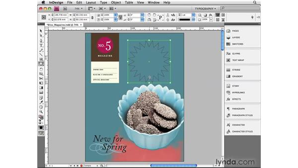 Creating polygons and starbursts: InDesign CS4 Beyond the Basics