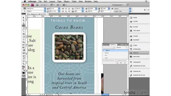 Making masks in InDesign: InDesign CS4 Beyond the Basics