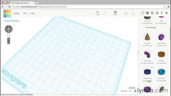 Introducing Shape Generators: Up and Running with Tinkercad