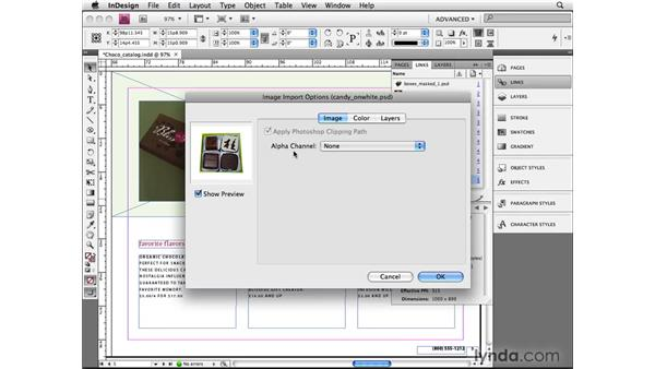 Using advanced image transparency: InDesign CS4 Beyond the Basics