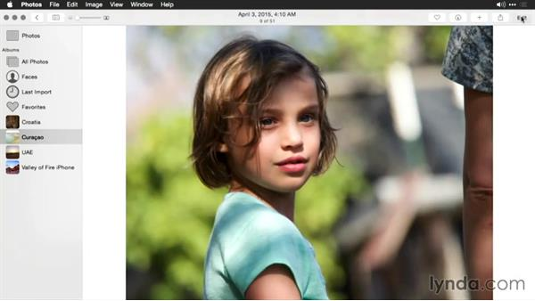 Removing a color cast from a photo: Enhancing Images with Photos for OS X