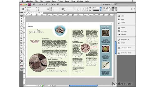 Creating outlines: InDesign CS4 Beyond the Basics