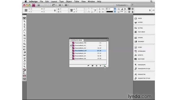 Building a multi-document book: InDesign CS4 Beyond the Basics