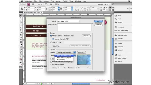 Making movies: InDesign CS4 Beyond the Basics