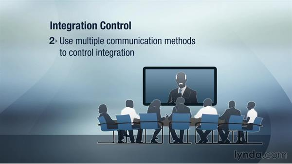 Controlling the integrated project: Managing Project Integration