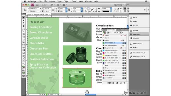 Working with duotones: InDesign CS4 Beyond the Basics