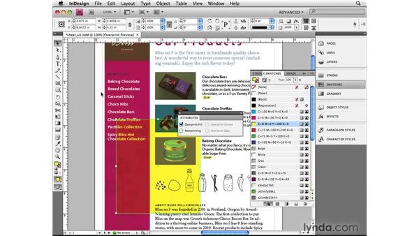 Overprinting: InDesign CS4 Beyond the Basics