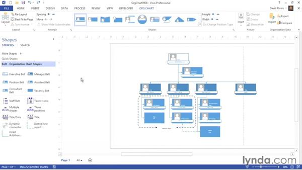 Using multiple and three-position SmartShapes: Visio 2013 Essential Training