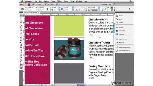 Working with RGB images: InDesign CS4 Beyond the Basics