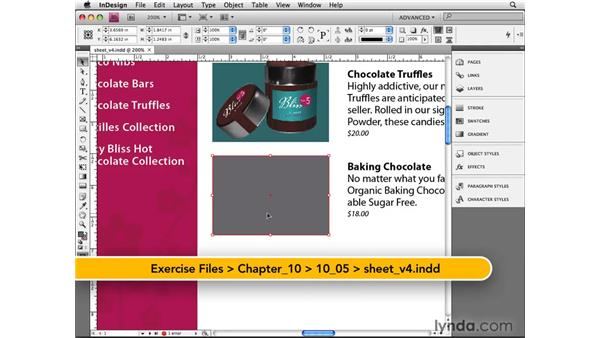 Working with CMYK images: InDesign CS4 Beyond the Basics