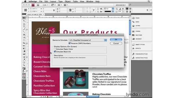 Soft-proofing: InDesign CS4 Beyond the Basics