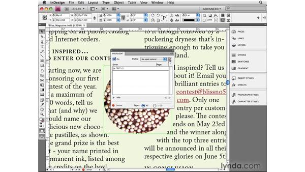 Embedding preflight profiles: InDesign CS4 Beyond the Basics