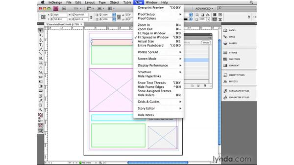 Structuring InDesign content: InDesign CS4 Beyond the Basics