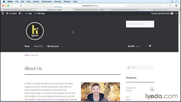 Protecting sensitive data: WordPress Ecommerce