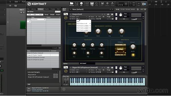 Loading and routing MIDI in KONTAKT: Advanced Instrumentation and Sound Design with KONTAKT