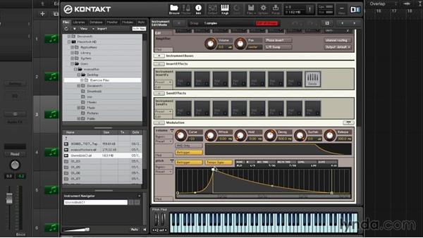 Advanced resampling and instrument customization: Advanced Instrumentation and Sound Design with KONTAKT