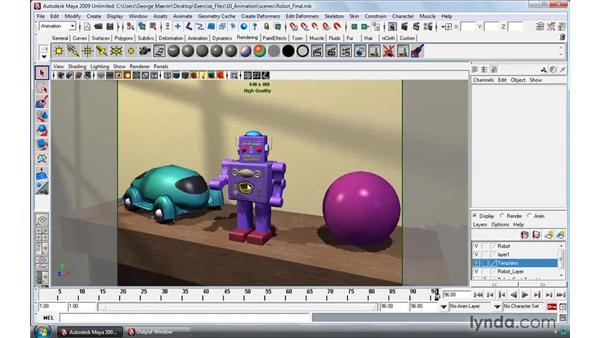 Working on a Mac: Maya 2009 Essential Training