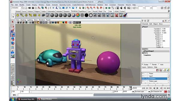 The importance of a three-button mouse: Maya 2009 Essential Training