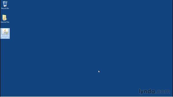 Installing Java on Windows: Java Essential Training