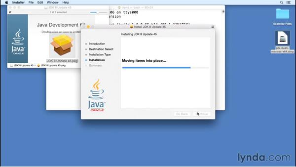 Installing Java on OS X: Java Essential Training