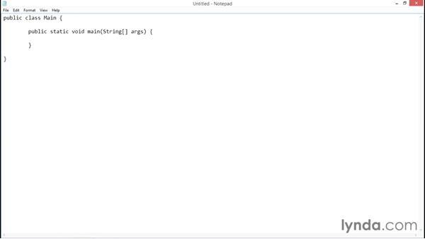 Hello World: Java Essential Training