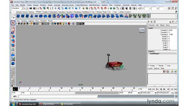 Navigating viewports: Maya 2009 Essential Training