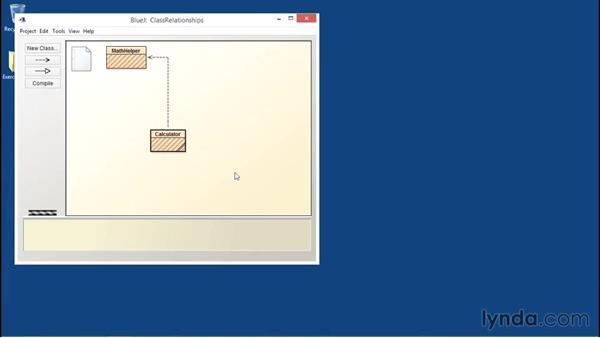 Visualizing class relationships: Java Essential Training
