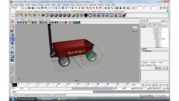 Understanding the Channel Box: Maya 2009 Essential Training