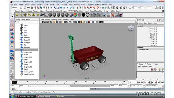 Understanding the Outliner: Maya 2009 Essential Training