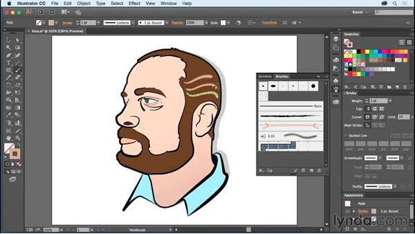 Painting with the Art brush and the Calligraphic brush: Using Wacom Tablets with Illustrator