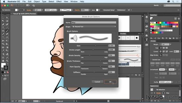 Bristle brush: Using Wacom Tablets with Illustrator