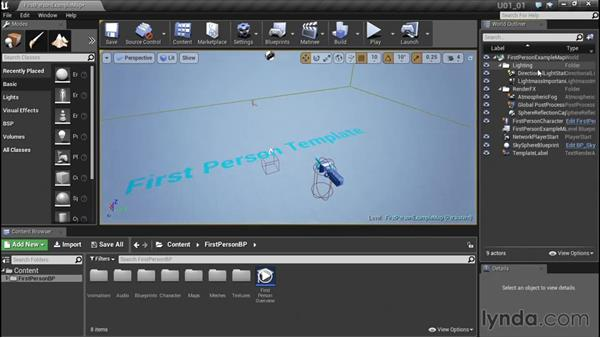 Customizing a player controller: Unreal Engine: Architectural Visualization