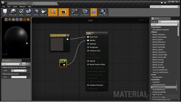 Fine-tuning metals: Unreal Engine: Architectural Visualization