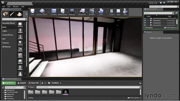 Fine-tuning the sunlight and sky: Unreal Engine: Architectural Visualization