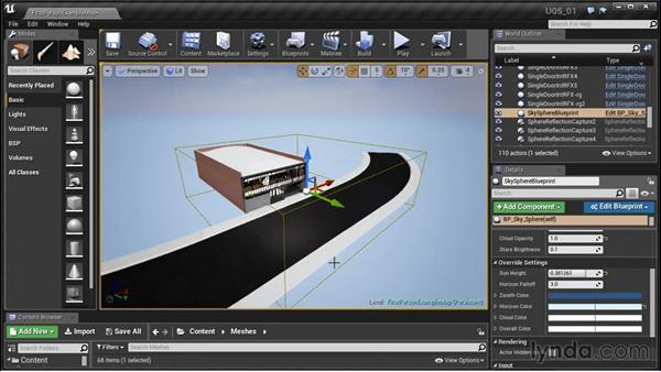 Generating terrain: Unreal Engine: Architectural Visualization