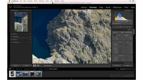 Shooting an aerial shot of a waterfall: Aerial Landscape Photography in New Zealand