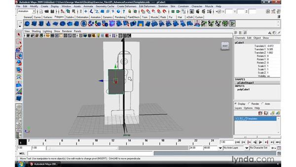 Modeling a robot pt. 1: The body: Maya 2009 Essential Training