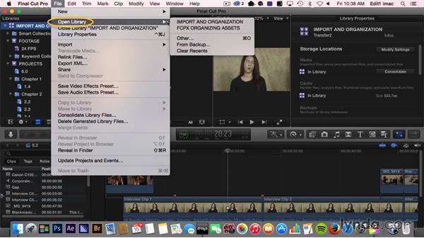 What you should know before watching this course: Final Cut Pro X Guru: Organizing Assets