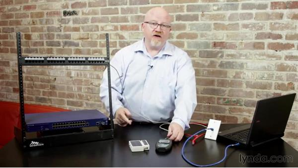 Testing cable: CompTIA Network+ Exam Prep (N10-006) Part 2: The Physical Network