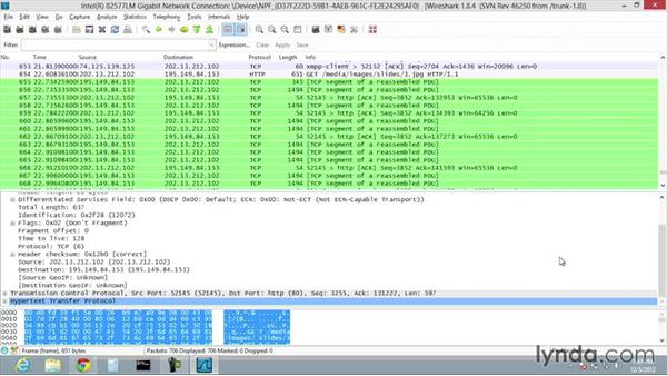 Introduction to Wireshark: CompTIA Network+ Exam Prep (N10-006) Part 4: Making TCP/IP Work