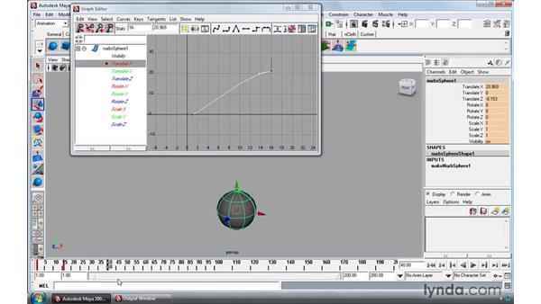 Creating animation cycles: Maya 2009 Essential Training