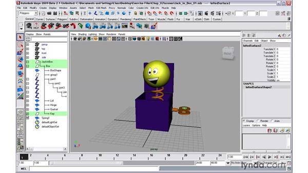 Creating assets: Maya 2009 New Features