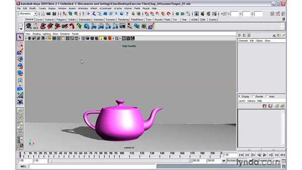 Introducing nParticles: Maya 2009 New Features