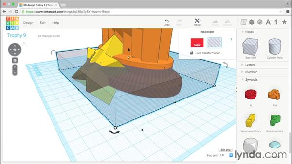 Cutting the bottom flat: Tinkercad: Modeling Custom Designs for 3D Printing