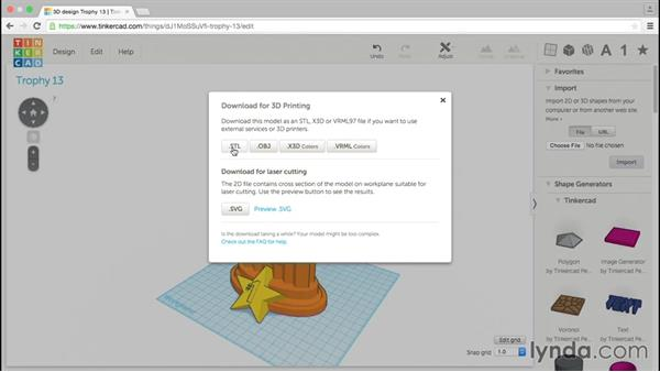3D printing your project: Tinkercad: Modeling Custom Designs for 3D Printing