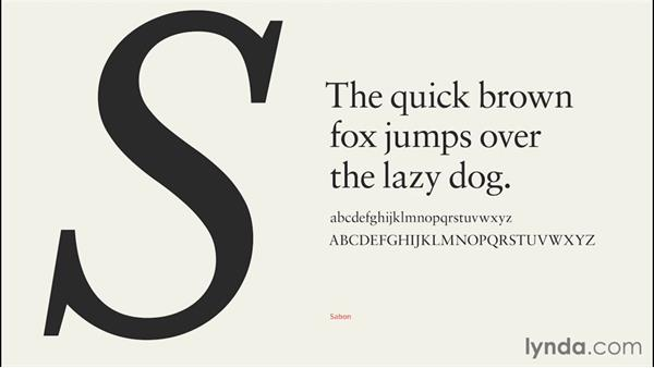 Working with type on screen: InDesign CC EPUB Typography