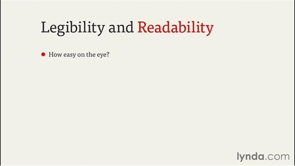 Considering legibility and readability: InDesign CC EPUB Typography